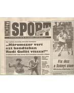 Nemzeti Sport 1993. november (hiányos)