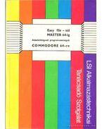 Easy file - tól Master 64-ig-Adatfeldolgozó programok Commodore 64-re