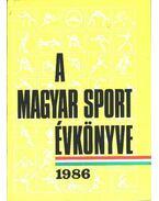 A magyar sport évkönyve 1986