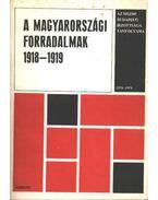 A Magyarországi forradalmak 1918-1919