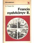 Francia nyelvkönyv a gimnáziumok II. osztálya számára