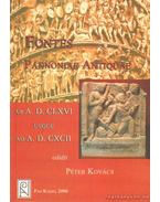 Az antik Pannonia forrásai Kr. u. 166-tól Kr. u. 192-ig