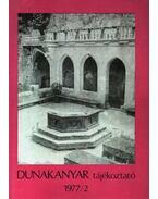 Dunakanyar tájékoztató 1977/2.