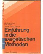 Einführung in die exegetischen Methoden