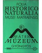Mátra Múzeum, Gyöngyös 1995. 20.