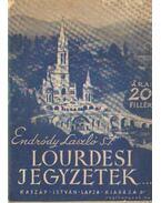 Lourdesi jegyzetek