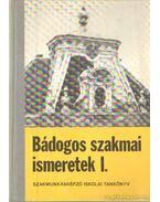 Bádogos szakmai ismeretek I-III. kötet