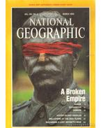 National Geographic March 1993 Vol. 183. No. 3.