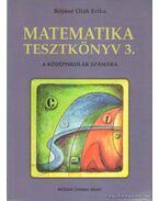 Matematika tesztkönyv 3.