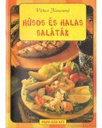 Húsos és halas saláták