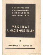 Vádirat a nácizmus ellen II. kötet