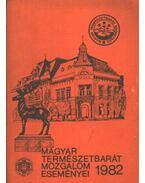 Magyar természetbarát mozgalom eseményei 1982