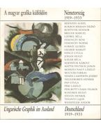 A magyar grafika külföldön - Németország 1919-1933