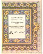 Miniatures Illuminations of Nizami's ''Khamsah''