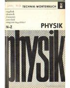 Technik-Wörerbuch Physik N-Z