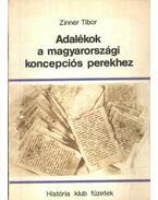 Adalékok a magyarországi koncepciós perekhez