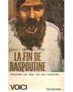 Le fin de Raspoutine