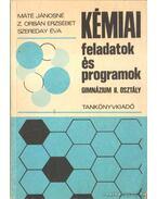 Kémiai feladatok és programok
