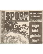 Nemzeti Sport 1994. január V. évfolyam (hiányos)