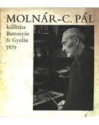 Molnár-C. Pál kiállítása Battonyán és Gyulán 1979 (dedikált)