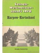 Schach-Weltmeisterschaft 1978 Karpow-Kortschnoi
