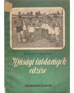 Ifjúsági labdarúgók edzése