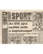 Nemzeti Sport 1994. V. évf. május (hiányos) - Szekeres István
