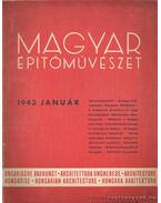 Magyar építőművészet 1943. január