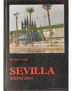 Sevilia Expo előtt (dedikált)