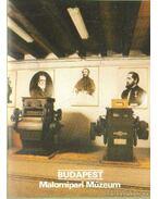 Budapest - Malomipari múzeum