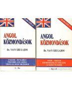 Angol közmondások I-II.
