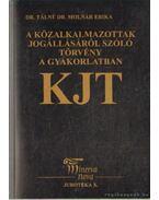A közalkalmazottak jogállásáról szóló törvény a gyakorlatban - Dr. Táliné Dr. Molnár Erika