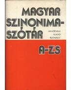 Magyar szinonima szótár A-Zs