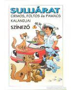 Sulijárat - Cirmos, Foltos és Pamacs kalandjai (színező)