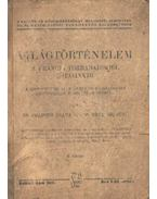 Világtörténelem a francia forradalomtól napjainkig IV. kötet