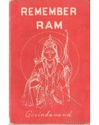 Remember Ram