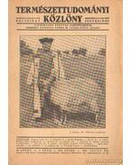 Természettudományi közlöny 1937. 7. szám