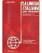 La Italiana per stranieri con le 3000 parole piú usate nell'italiano d'oggi (olasz nyelvű)