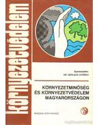 Környezetminőség és környezetvédelem magyarországon