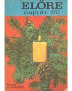Előre naptár 1977.