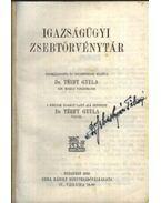 Térfy Igazságügyi Zsebkönyvtár - Térfy Gyula