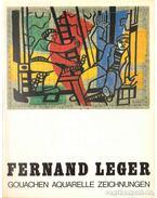 Fernand Leger Gouachen Aquarelle Zeichnungen