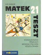 21 matek teszt