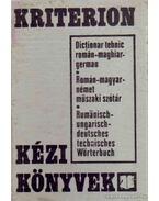 Román-magyar-német műszaki szótár