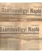 Szamosvölgyi Napló (2 db) 1935.julius 10 1935. augusztus 6.
