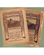 Turistaság és Alpinizmus 1916. (hiányos)