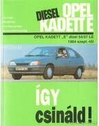 Opel Kadett E Diesel