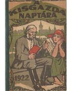 A Kisgazda Naptára az 1922-ik évre