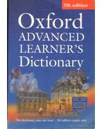 Oxford Advanced Dictionary of Current English