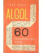 Az Algol 60 Programozási Nyelv